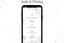 The Wedding of Andri & Chintya by ERUGO Digital Guest Book