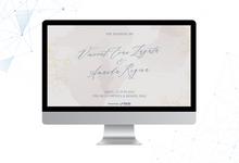 The Wedding of Vincent & Amanda by ERUGO Digital Guest Book
