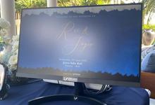 The Wedding of Rui & Joyce by ERUGO Digital Guest Book
