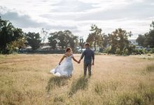 Sunken Garden Engagement by Amilon Ignacio Photography