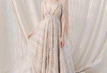 Berta Nude Dress by Espoir Studio