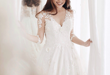 Cille wedding dress (available for rent) by Espoir Studio