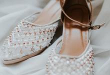 The wedding of Lisa (wedding shoes) by Espoir Studio
