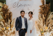 The Wedding of Clarisa by Espoir Studio