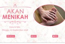 Design Undangan Online by Esrive Invitation