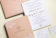 Edo & Tifanny by Gracia The Invitation