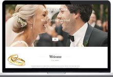 I Love Us - Eternity template by I Love Us - Wedsites