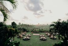 Nagisa Bali For Gabrielle and Wishaldi by Nagisa Bali