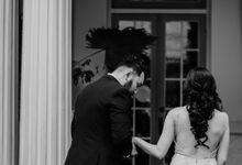 Eugene & Crysta Wedding at Bunga Rampai Restaurant Jakarta by AKSA Creative