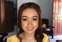 Bridesmaid Makeup by Gracia Vera