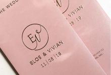 Elos & Vivian by Gracia The Invitation