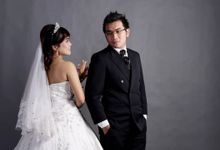 Wedding Of Rere & Deny by EVA BUN