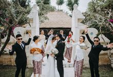 David & Evi Wedding by White Roses Planner