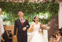 Skenoo Hall Wedding Entrance by Skenoo Hall Emporium Pluit by IKK Wedding