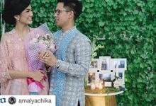 The Engagement Of Chika And Andra by Seserahan by Rose Arbor