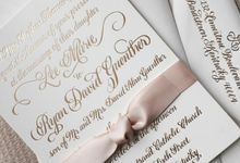Custom Calligraphy Invitations by Calligraphy By Jennifer
