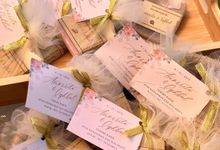 Wedding Favor of Amorrita & Iqhbal by The Soap Project Indonesia