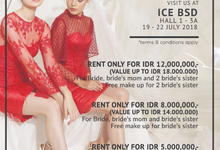 Bridestory promo 19-22 July by Exme Gallery