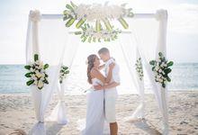 Larissa & Thilo's Wedding by Hotel Ombak Sunset