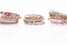 Stacking Rings by Ling Jewellery