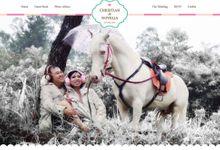 The Wedding of Christian & Novelia by CR Web Design Studio