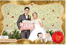 The Wedding Of Teddy & Siska by Indigo Photobooth