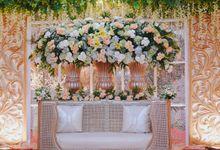 The Wedding of Isa & Bayu by Diamond Weddings