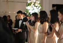 The Wedding of Cindy & Kris at Fairmont by La Oficio Entertainment