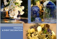 BLUE-WHITE-CHINOISERIE by Yulika Florist & Decor