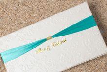 Undangan Pernikahan Ibur & Zakiruh by Mitra Wedding