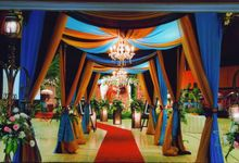 Indoor Stage Decoration by Marini Decoration