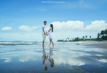 Prewedding Pantai by Fakhri photography