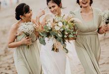 Wedding of  Fannie & Joe by Beyond Decor Company
