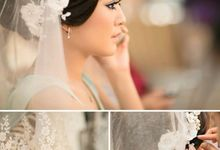 The bride with Signature's by Signature Wedding Details