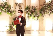 Intimate Wedding at Imperial Golf Karawaci - MC Anthony Stevven by Anthony Stevven