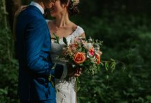 Romantic, Rustic Outdoor Shoot by Fleurish Floral Design