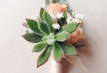Boutonniere & Corsage by Twigs and Twine