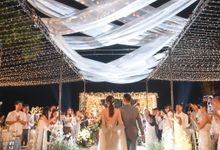 A night full of stars for Kendrick & Angelina by Vilia Wedding Planner