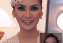 Indra & Monita Wedding by Marcelline Vony MUA