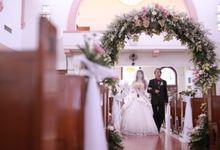 Autumn Theme Wedding Boy & Elisia at Empire 10th Floor  Surabaya by FIVE STARS Event Organizer