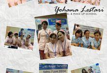 MAKE UP SCHOOL ( terjun lapangan ) by Yohana Lestari Bridal & Make up School