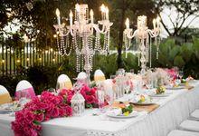 Outdoor Wedding at Lake Garden by Royal Ballroom The Springs Club
