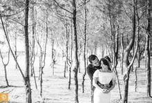 Angga & Saras by dedenphotography