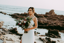 Beachside Wedding by Faces by Frida