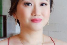 The Wedding Natalie & Agus  by Silvia Melinda Professional Make Up Artist