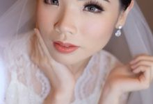 Wedding Makeup Venny by makeup by marcellans