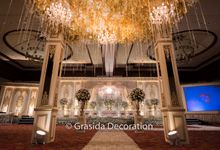 Fachry & Ima Wedding - Balai Kartini Rafflesia by Grasida Decoration