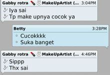 Testi my lovely client by Gabby Rotra MUA
