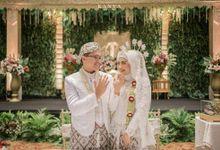 Pernikahan Fani & Hanief Di Menara 165 by Medina Catering