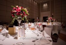Farley & Fransisca Wedding at Fairmont Hotel Jakarta by Grasida Decoration